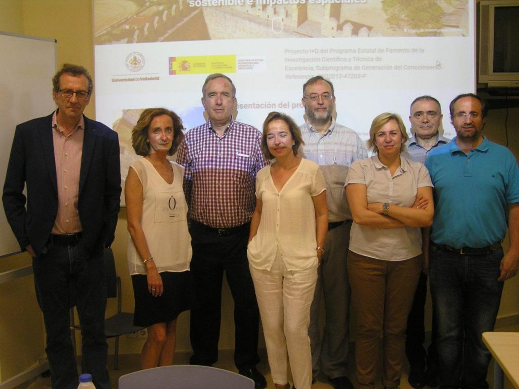 Reunión del Equipo de Investigación del Proyecto el jueves 9-06-2016